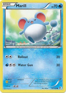 Marill Boundaries Crossed Pokemon Card