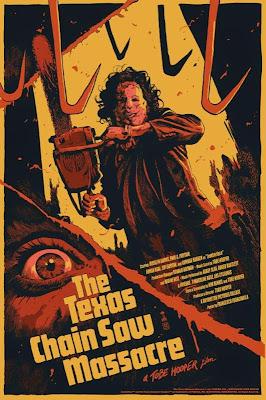 The Texas Chainsaw Massacre Variant Screen Print by Francesco Francavilla