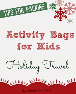 Travel Activity Bag