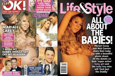 Mariah Carey Welcomes Twins