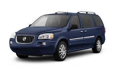 best minivans 2007 buick terraza. Black Bedroom Furniture Sets. Home Design Ideas