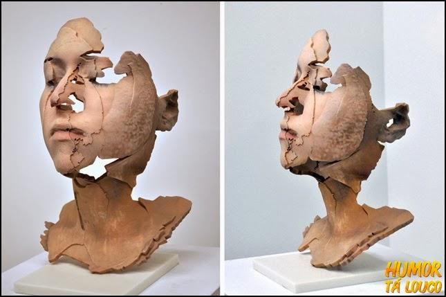 Obras de arte feitas com uma impressora 3D