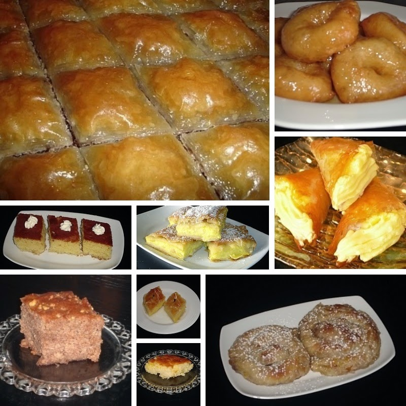 Popular Greek Sweets Recipes