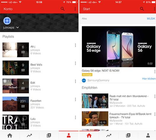 Приложение youtube на iphone 2