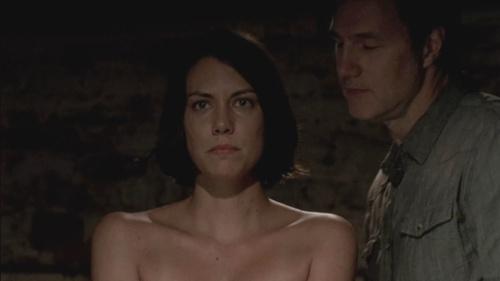 El Gobernador interrogando a Maggie