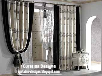 Doorway Curtains, Doorway Curtain Design With Vertical Stripes