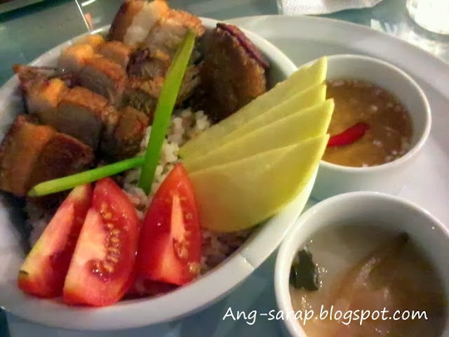 Lechon kawali and bagoong rice @ B.I.H.O.N. Noodle BAR