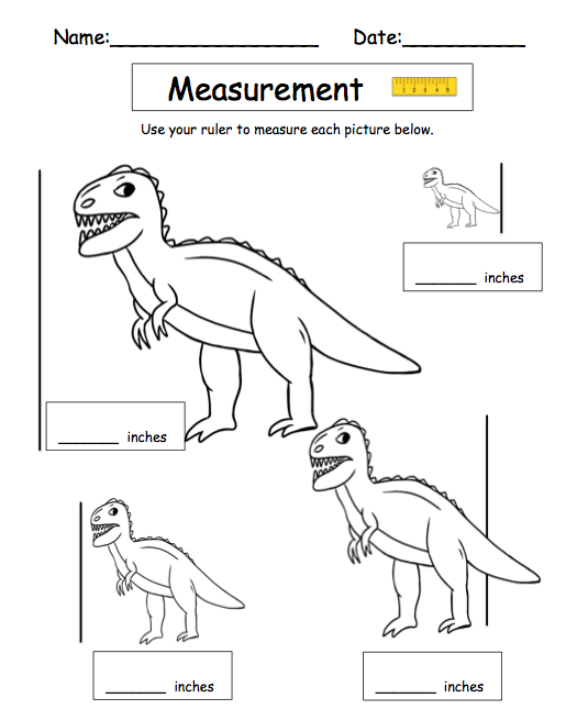 Free Worksheets Measuring Worksheets For Kids Free Printable – Measuring in Inches Worksheet