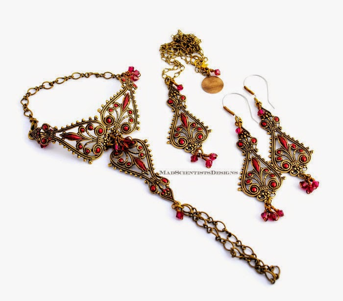 morocan style  tribal jewelry middle eastern