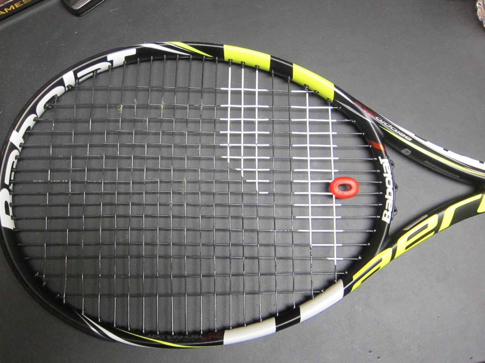 babolat aeropro drive gt rafa 39 s new babolat racket pics preview and video review tennis. Black Bedroom Furniture Sets. Home Design Ideas