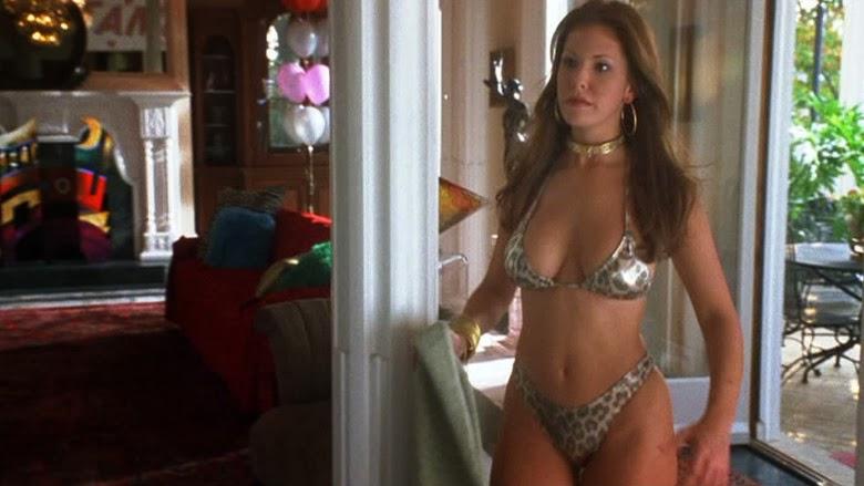 Nikki Cox leopard print bathing suit Run Ronnie Run movieloversreviews.filminspector.com