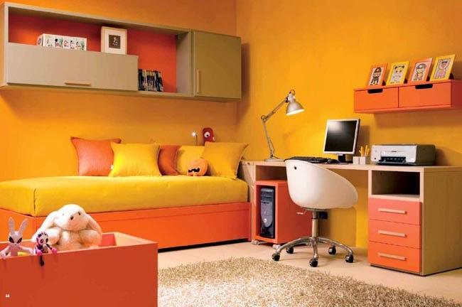 Room styles: Gele kamer