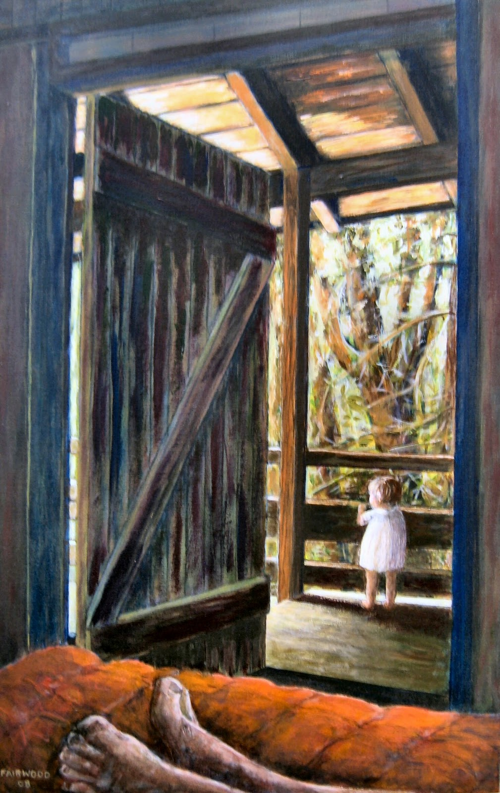 open door painting. \ Open Door Painting