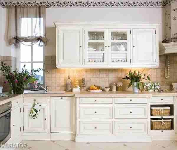 Bądź kreatywny, uwolnij siebie Styl prowansalski  biel w   -> Kuchnia Styl Prowansalski Ikea