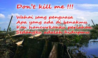 Don't kill me !!!