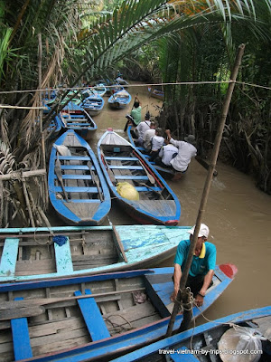 My Tho sampans boat canals