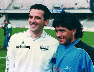 Massimo Troisi Diego Armando Maradona