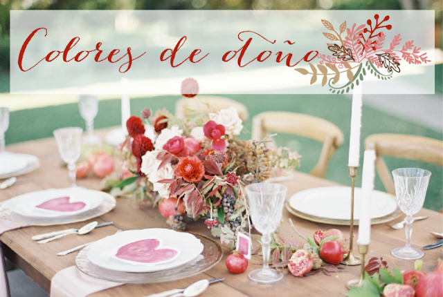 Boda en colores otoñales by Habitan2 /deco-party / event planner /decoración handmade para hogar y eventos low cost