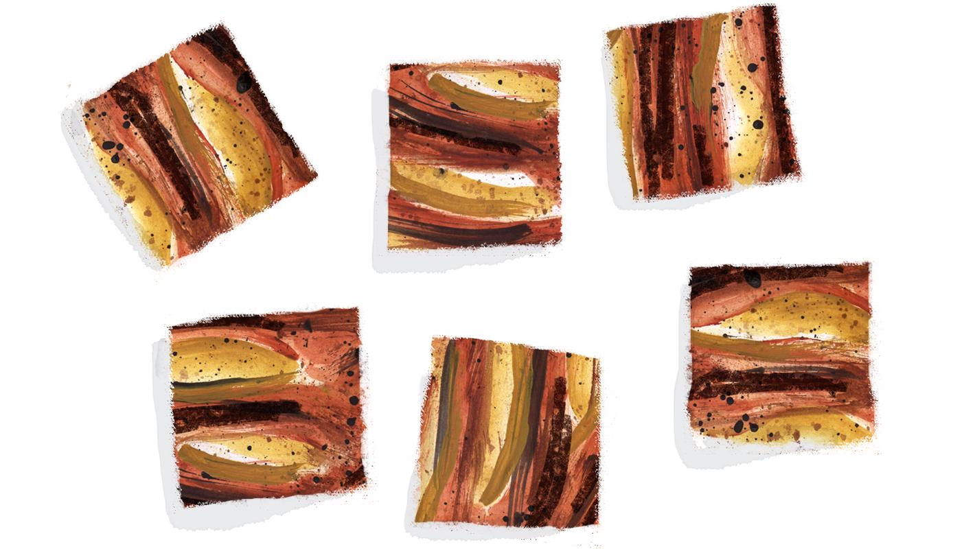 Pear Coffee Cake, Lauren Monaco Illustration