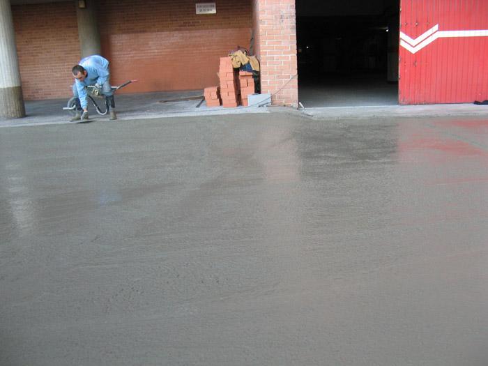 Pavimentado de acceso a garaje