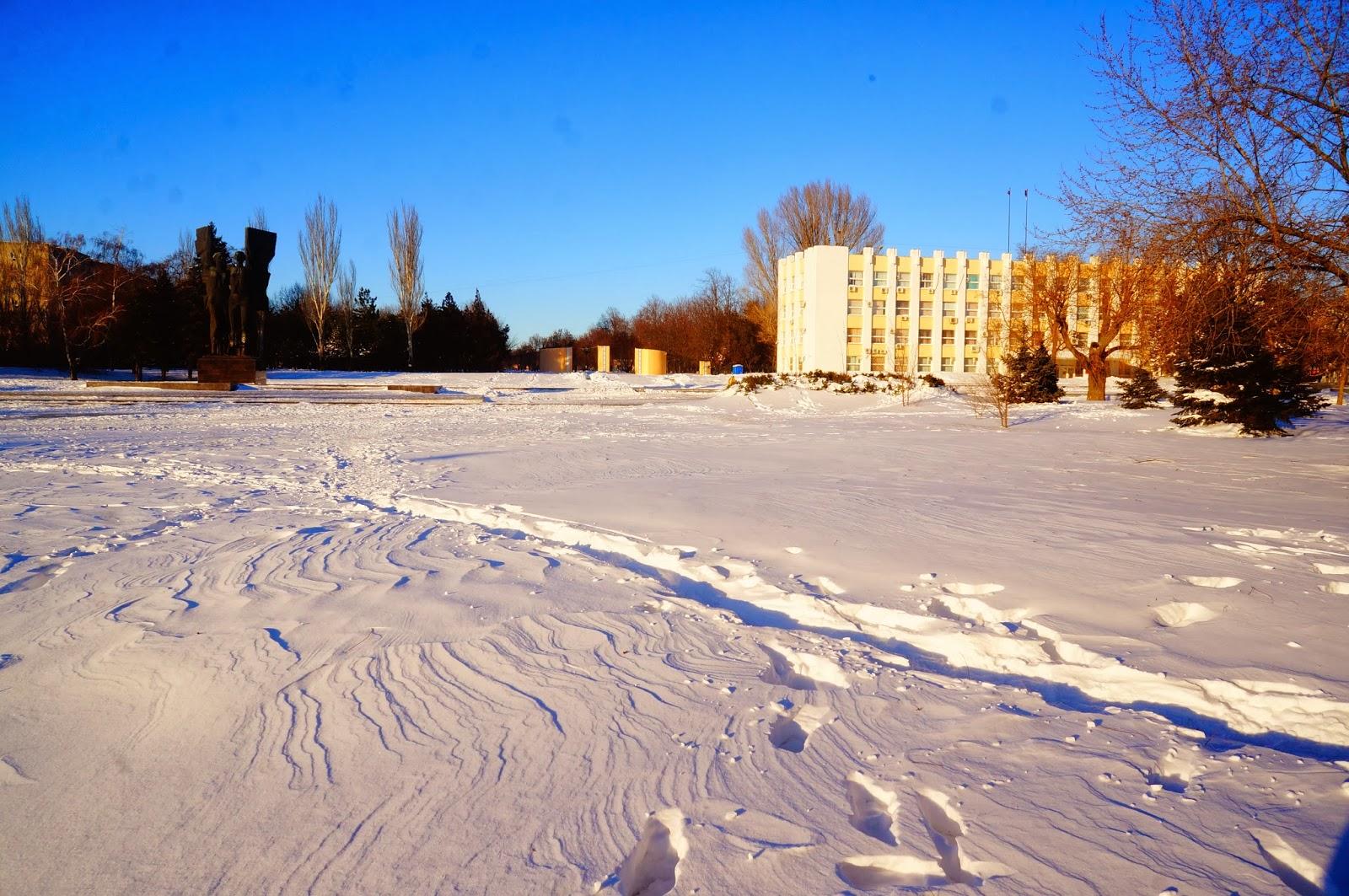 Плевен_Зимой_2014