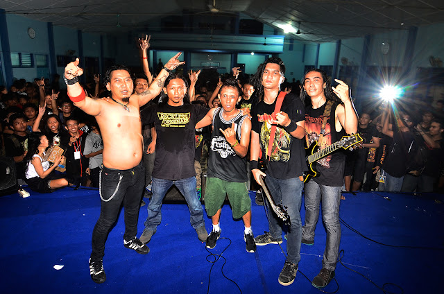 ENGORGING live at Surakarta Death Fest 2013