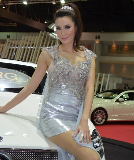SPG Cantik di Thai Motor Expo 2012