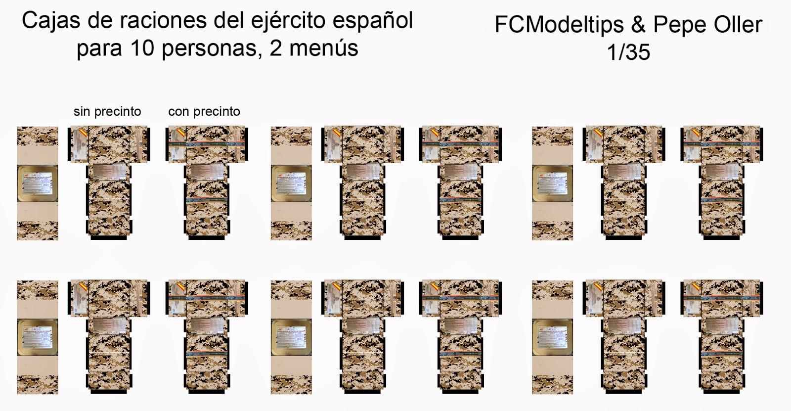 fcmodeltips federico collada raciones españolas 3