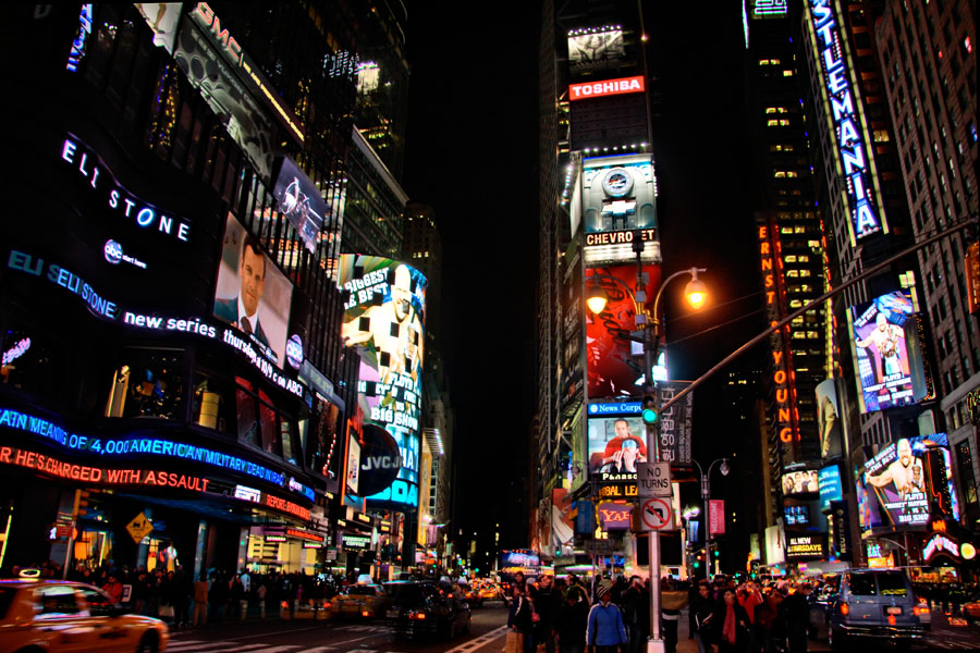 World Most Popular Places Times Square New York
