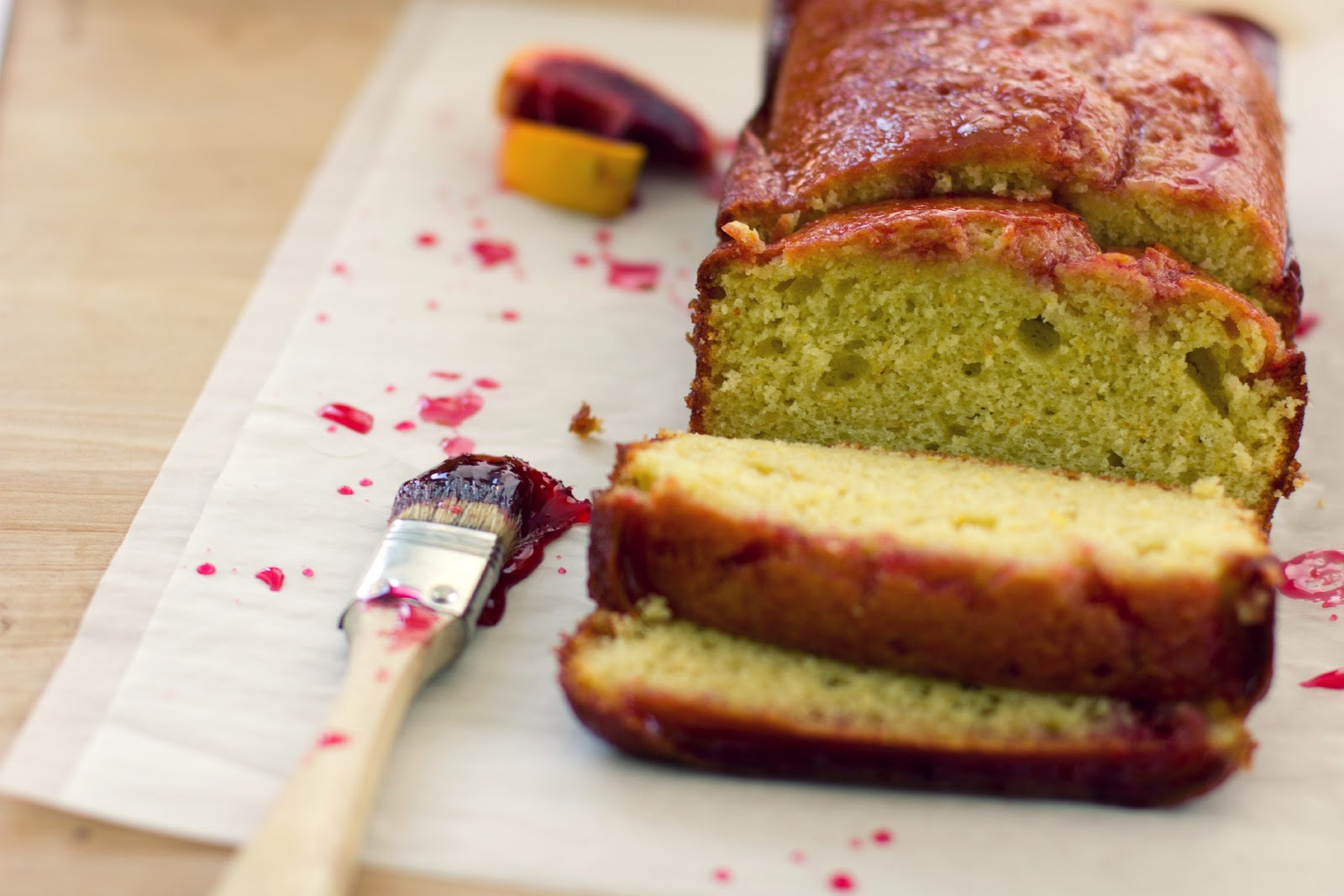 The Vanilla Bean Blog | blood orange olive oil loaf cake