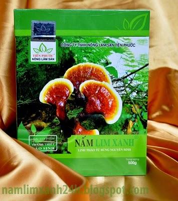 Giá bán của nấm lim xanh loại thanh thiết bảo sinh là 2.000.000/ 1 hộp 500g