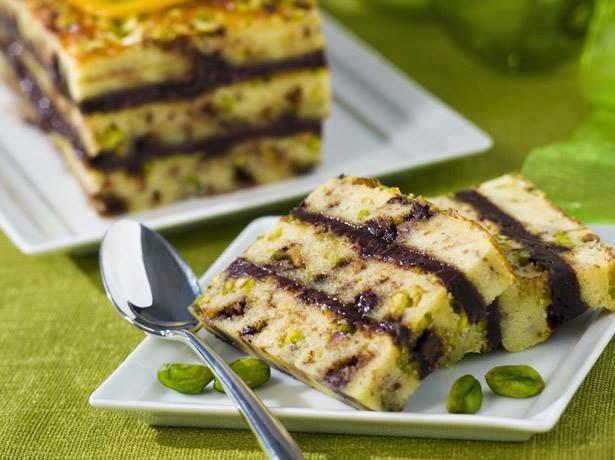 Recette Biscuit moelleux aux pépites de chocolat et pistaches