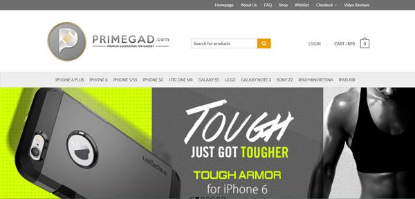 Primegad.com Aksesoris Gadget Premium Terpercaya