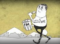 """""""Homem"""", uma animação de Steve Cutts"""