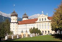 Cistercian Abbey in Stams in Tyrol Austria