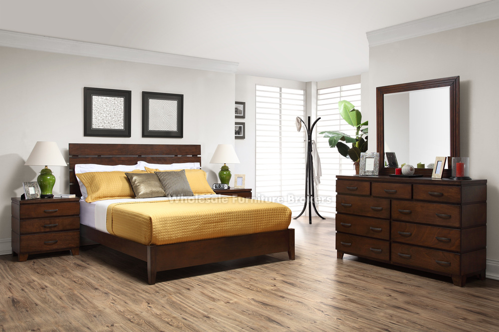 Contemporary platform beds from lifestyle solutions that for Lifestyle furniture