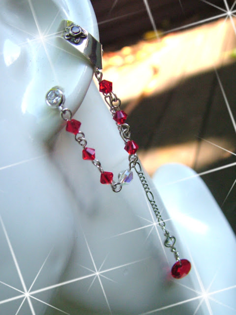 Revamped Swarovski Ear Cuffs