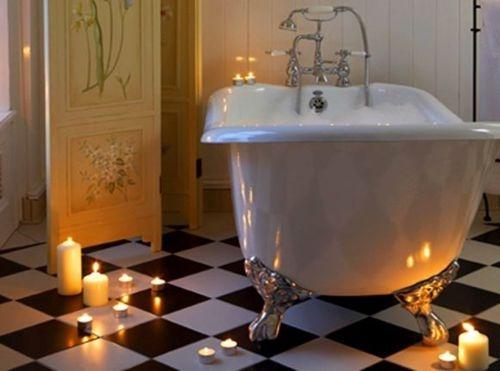 bañera vintage