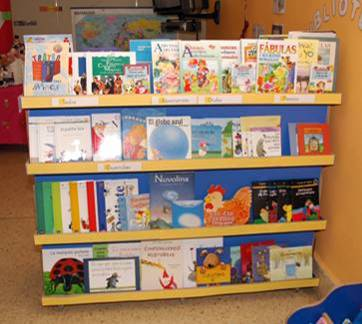 Literatura infantil - Estanteria biblioteca infantil ...