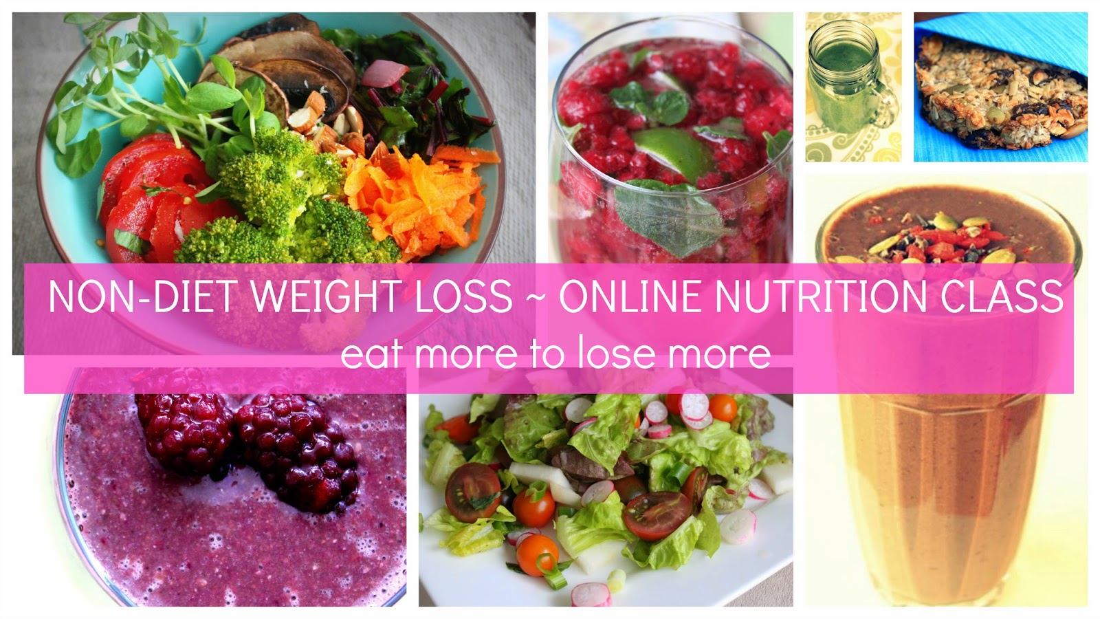 Online Non-Diet Weight Loss program