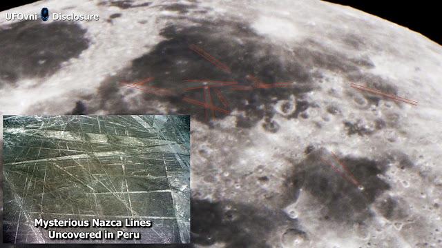 Mystérieuses lignes de Nazca découvertes sur La Lune, Télescope (Vidéo 4K)