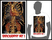 T-SHIRT RADIOGRAPHY ART1 PUTIH