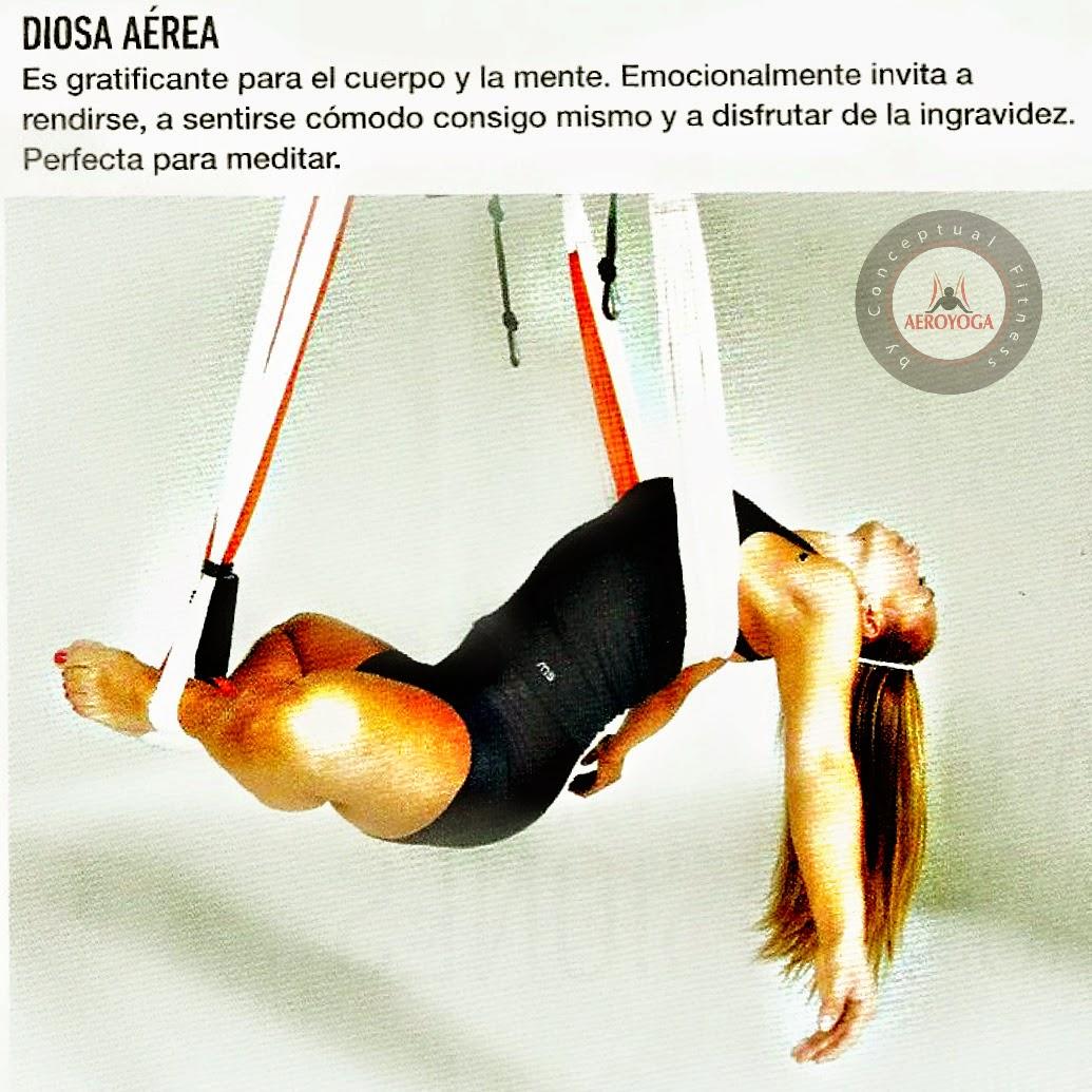 Método AeroYoga®: Yoga Aéreo en Columpio conSusana Revista Bodytech Colombia