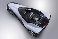 Nissan Bladeglider Concept top side