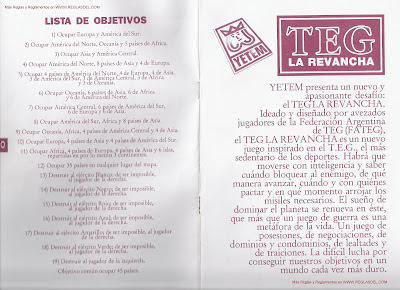 instrucciones del teg tapa