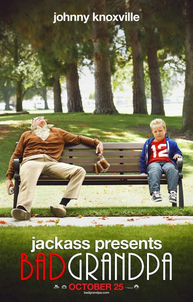 La película Bad Grandpa ( El abuelo sinvergüenza )