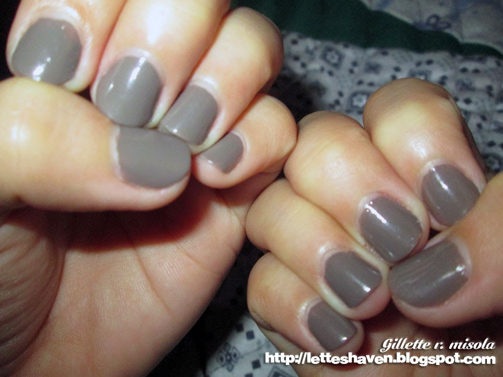 Lette\'s Haven: Chic Nail Color Glaze Ash