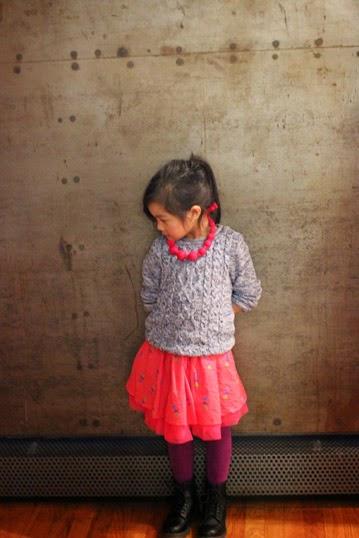 Chichi Mary | petitePARADE Fashion Show Spring/Summer 2015:  Mary having her photo taken