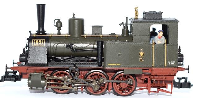 2018.03 - Fleischmann BR 89 1851 Jubileu 120 Anos Ref. 4904