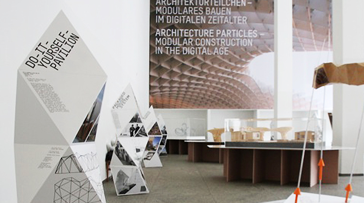 Awesome The Exhibition Design Concept Is Based On A Sphere Packing Method Known  From Molecular Structures Of Metalls, Such As I.e. Silver And Gold.